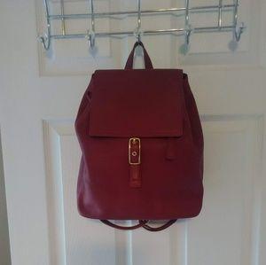 Coach back pack bag